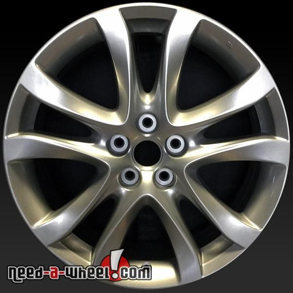 "2014-2016 Mazda 6 wheels for sale. 19"" HyperSilver stock rims 64958 #19, #6, #64958, #9965097590, #Mazda, #Silver http://www.need-a-wheel.com/rim-shop/19-mazda-6-wheels-oem-hypersilver-64958/"