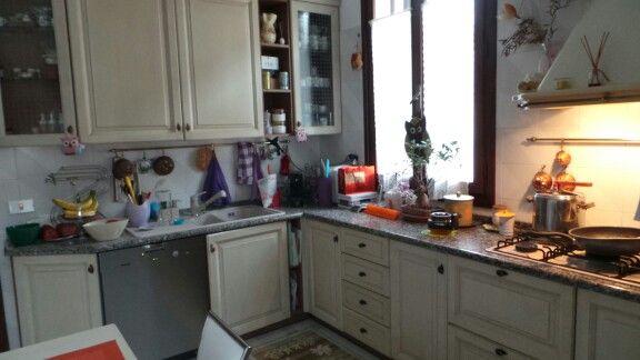 Il disordine della mia cucina