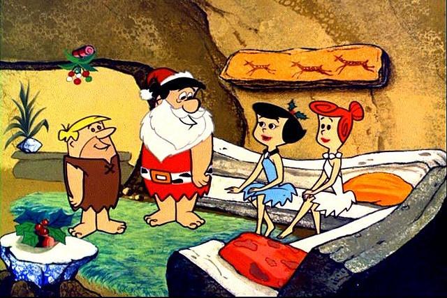 "Scenes from ""A Flintstone Christmas"" 1965 06 by slappy427, via Flickr"