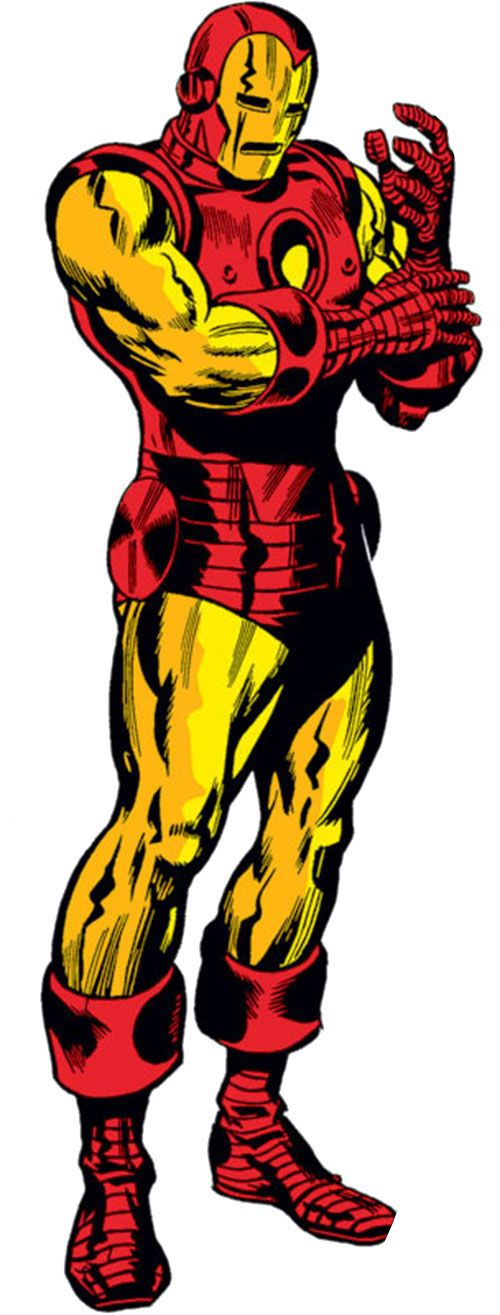 Iron Man -Golden Avenger Armor..............