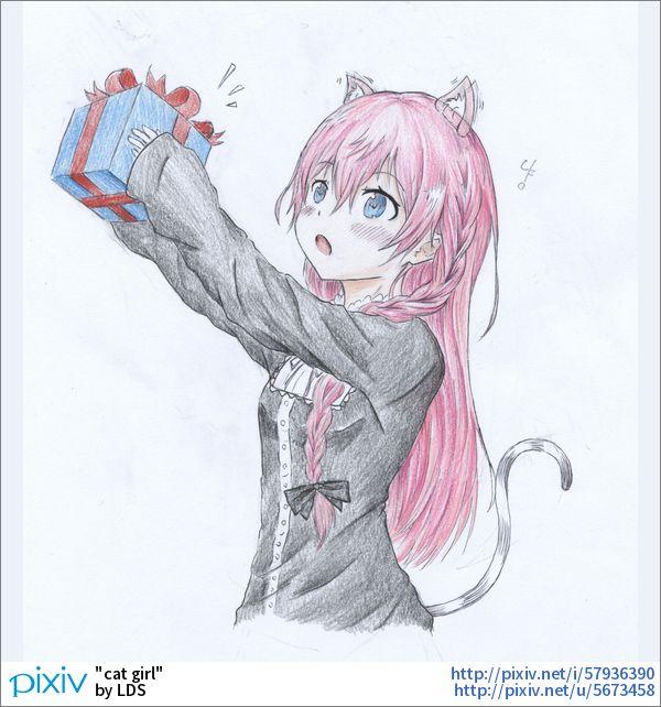 【클로저스】「cat girl」イラスト/LDS [pixiv]