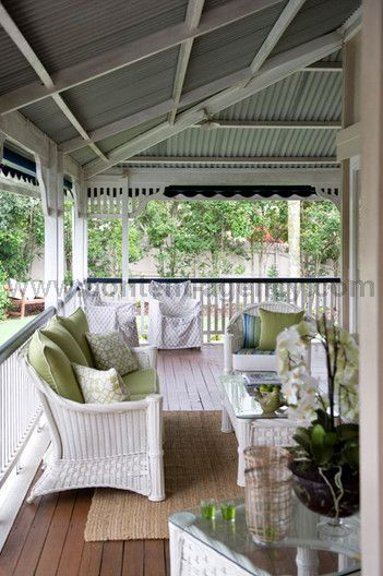 Glenena - Content Agency Veranda of a Queenslander Home Somewhere to get away from the hot sun