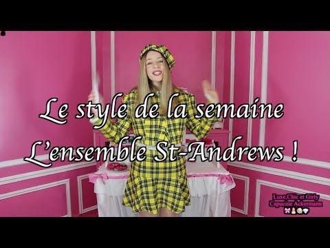 "L' ensemble St Andrews ""By Capucine Ackermann"" 🎀  😃"