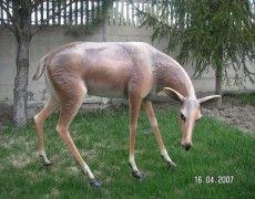 Statue of female deer