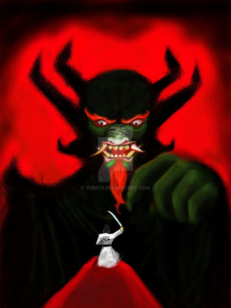 Aku and Jack by Cubico