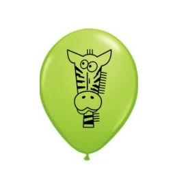 This gorgeous latex balloon is perfect for your animal or jungle themed party. Balloons are a party favourite and can be used to mark the mailbox of the party,