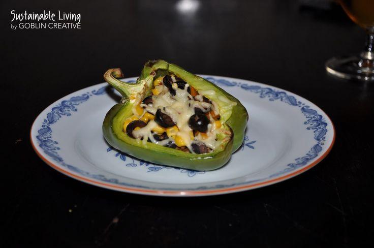 """Vegetarisk taco båt med lins""""färs"""""""