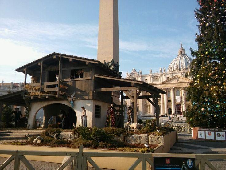 Vatican szopka