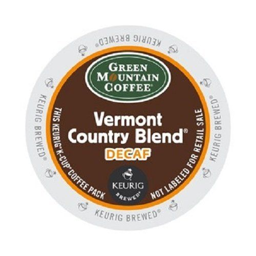 Green Mountain Coffee Medium Roast KCup for Keurig Brewers Vermont Country Blend Decaf Coffee Pack of 96 -- Want to know more, click on the image. (This is an affiliate link) #CapsulesPods