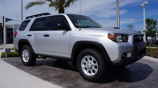 The 2013 Toyota 4Runner near Orlando is an extremely versatile vehicle. Not only can it handle a high towing capacity, but it can also handle different terrains! Toyota is one of the most-favored brands in the auto industry and provide many versatile options to choose from! Take a look at all the unique features that can be found in this new Toyota! http://blog.toyotaofclermont.com/2013/toyota-is-one-of-the-most-favored-brands-in-the-auto-industry/#