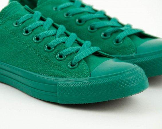 Zapatilla Converse verde