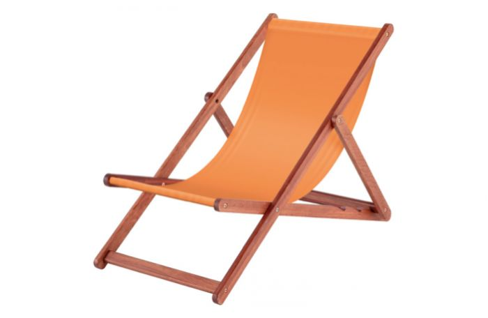 Above:The Italian-style outdoor FSC Karri Deck Chair is £62.10 from Capital Gardens.