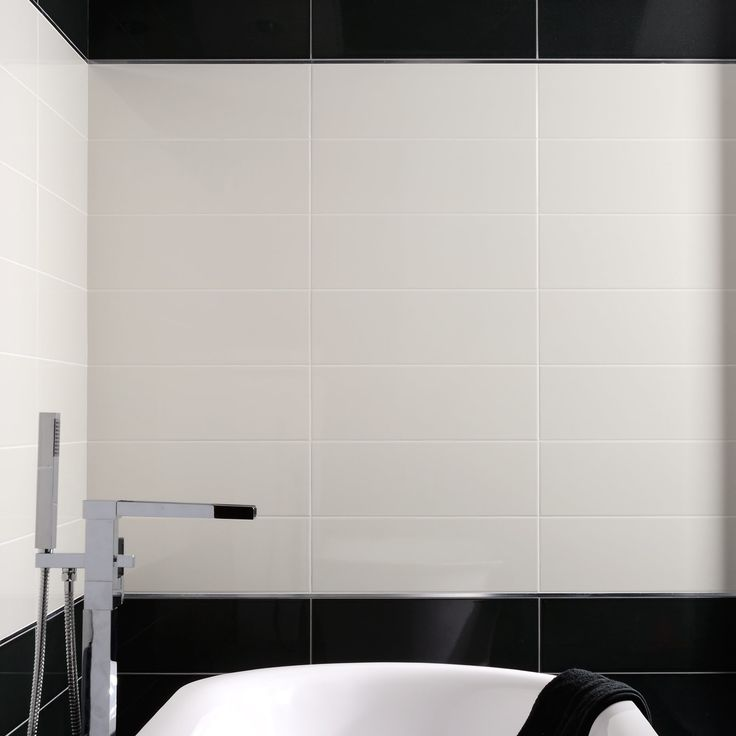 74 best Black And White Bathroom Ideas images on Pinterest ...