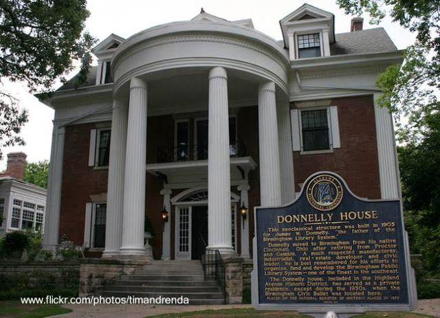 Casa sureña neo-clásica en el sur de Estados Unidos - Fuente www.flickr.com