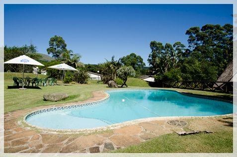 Pool Area. Ingeli Forest Lodge.