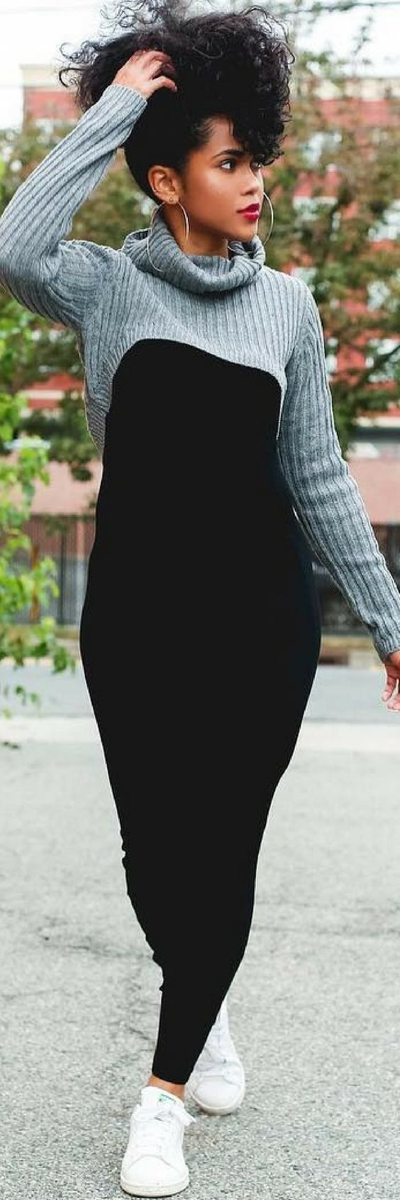 How To Improve Your Look With A Simple Crop Sweater http://ecstasymodels.blog/2017/11/04/improve-look-simple-crop-sweater/