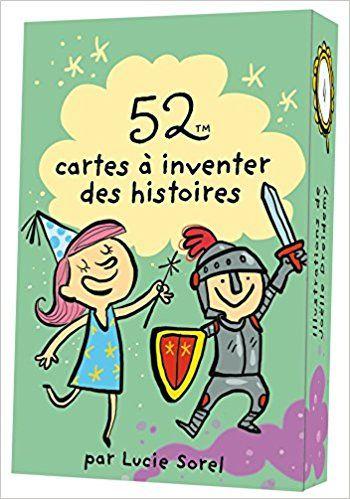 Amazon.fr - 52 CARTES A INVENTER DES HISTOIRES - Lucie Sorel, Joëlle Dreidemy - Livres