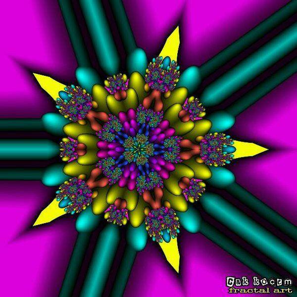 star fractal by Cakkocem