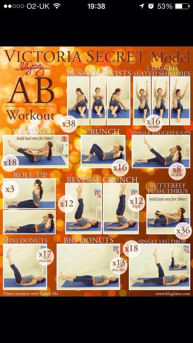 Easy Victoria Secrets Ab Workouts! #Health #Fitness #Trusper #Tip