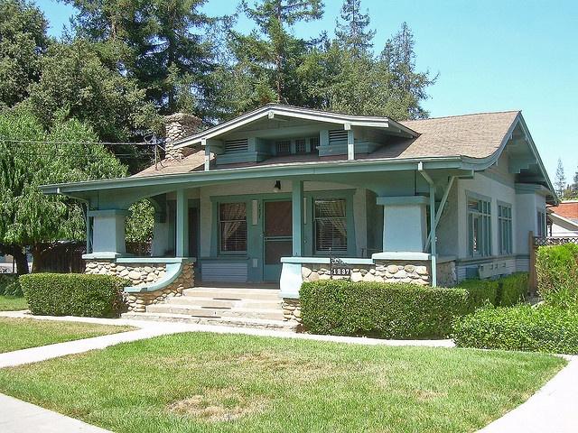 Craftsman House    San Jose, California. Built c. 1918.