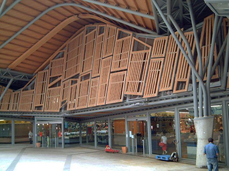 Market of Santa Caterina Arquitectos, Arquitectura
