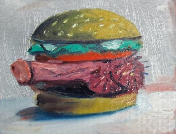Penis Burger 16