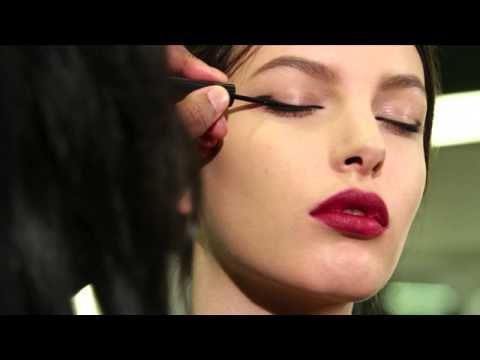 Winter 2014 makeup video tutorial with Pat McGrath - YouTube