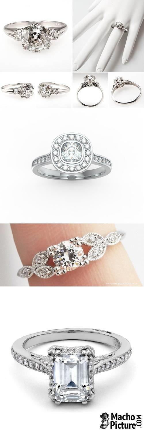Antique engagement rings uk - 5 PHOTO!