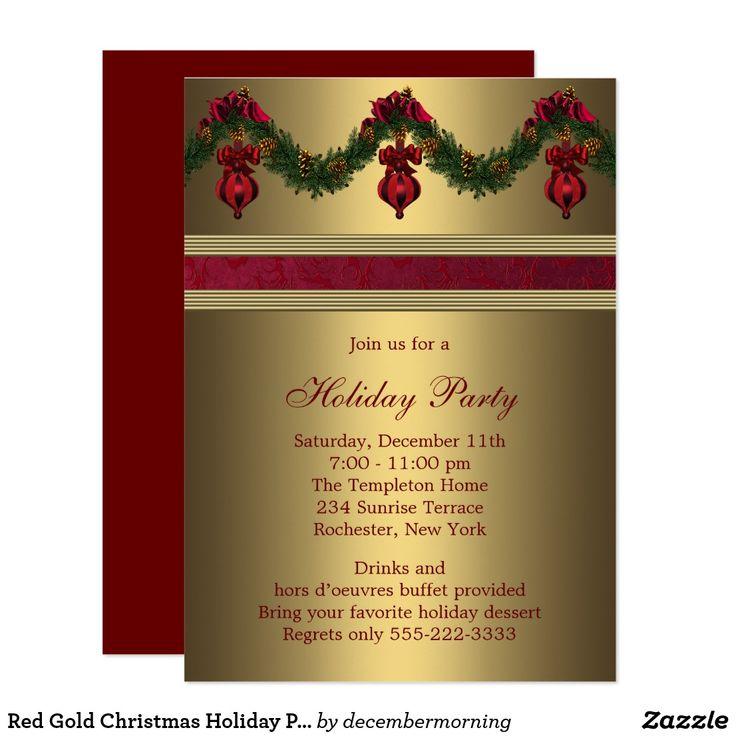 company christmas party invitation templates%0A Wording samples for Christmas Party Invitations DS        RSCF Holiday  party invitations   Pinterest   Party invitations  Christmas invitations  and Holiday