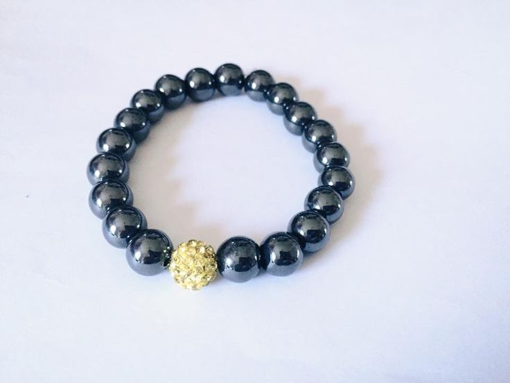 Hematite holistic for the lovely Mickaela :) #hematite #yellow #holistic #bracelet xx