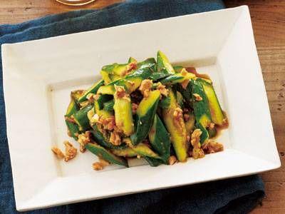 たたききゅうりのピリ辛あえ レシピ 講師は陳 建太郎さん 使える料理レシピ集 みんなのきょうの料理 NHKエデュケーショナル