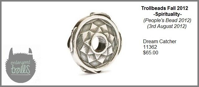 Trollbeads Fall 2012 Spirituality Collection - Dream Catcher