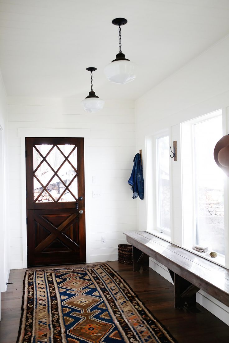 Foyer Rug Quarter : Best images about farmhouse entry and mudroom on