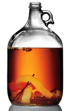 "Spiced Rum No. 5 - 1 bottle (750 milliliters) medium-bodied aged rum 3 allspice berries 3 cloves 1 cardamom pod 1 segment of a star anise pod 1/2 cinnamon stick 1/8 teaspoon freshly ground nutmeg 4x1"" strip of orange peel (no white pith) 1/2 vanilla bean"
