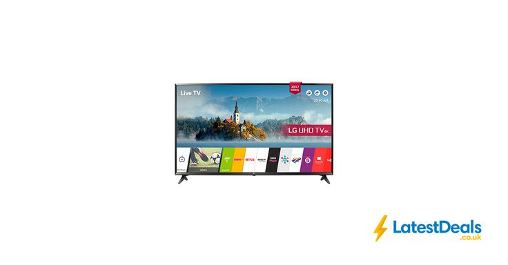 LG 49 Inch Smart Ultra HD 4K LED TV with webOS 3.5, Freeview HD and Freesat HD, £399 at Rgbdirect