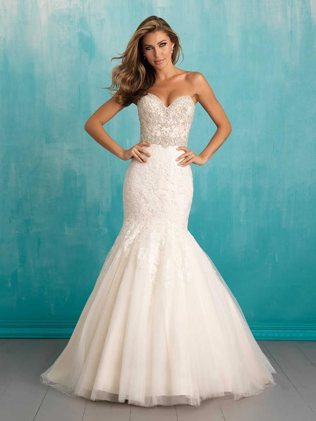 fishtail wedding dresses from allure