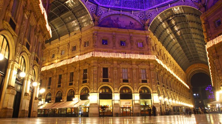 Milan's Seven Stars Galleria is an 'intimate, elegant hideaway', sat in the Milan shopping arcade Galleria Vittorio Emanuele II.