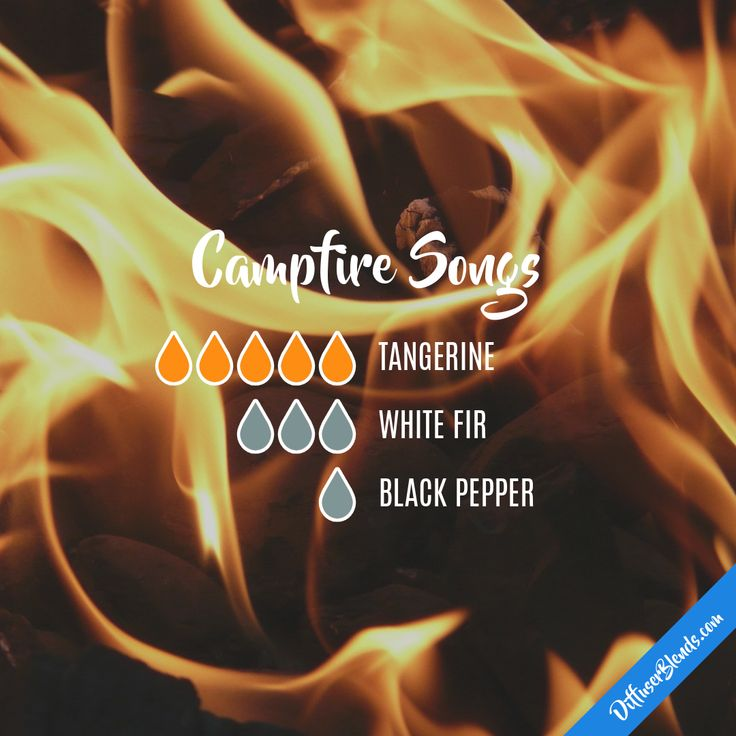 Campfire Songs — Essential Oil Diffuser Blend