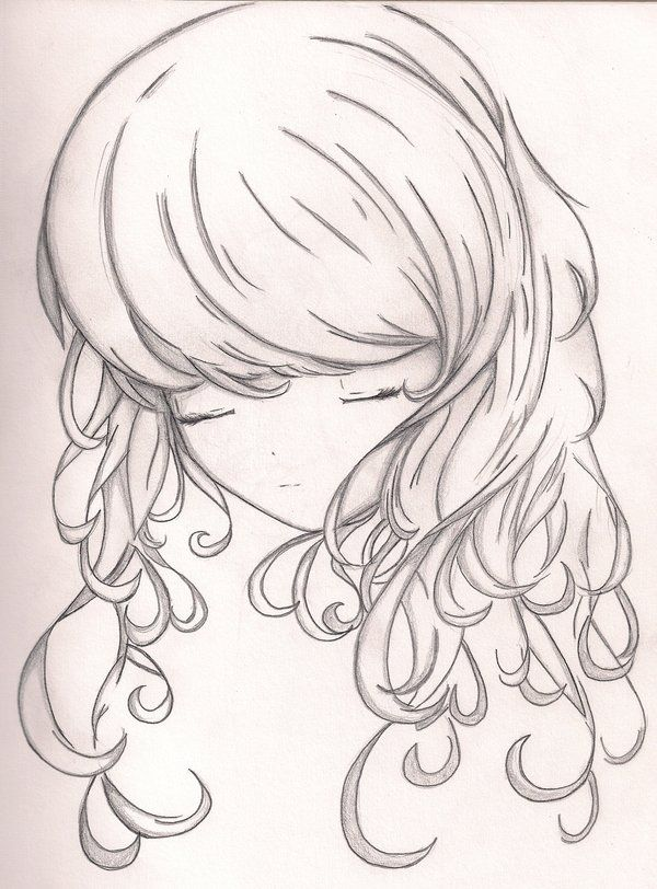 25 trending anime curly hair ideas on pinterest how to draw curly hair by 4ever artistiantart on deviantart oh ccuart Choice Image