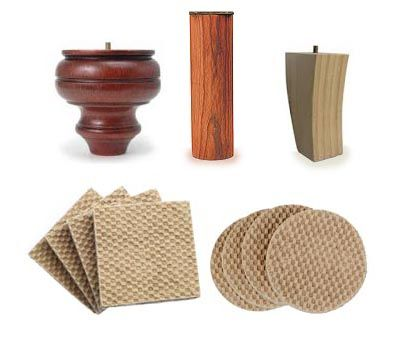 ... Sliders For Hardwood Floors. Stop Furniture Sliding With These Creamy  Beige Colored Grip Pads Made From Untreated Rubber. They