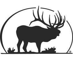 Elk silhouette tattoo but have the back white space look like a human face. Description from pinterest.com. I searched for this on bing.com/images