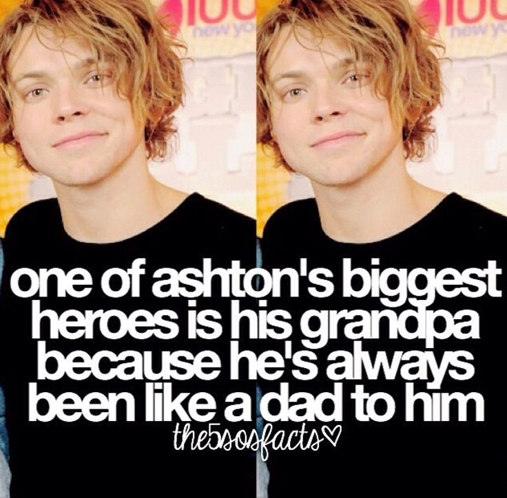 I'm going to go cry now, this is too sweet. When he said that in the video it was so precious. Ashton is such a beautiful boy.