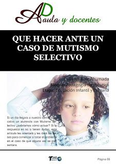 sara.maestra.al: MUTISMO SELECTIVO