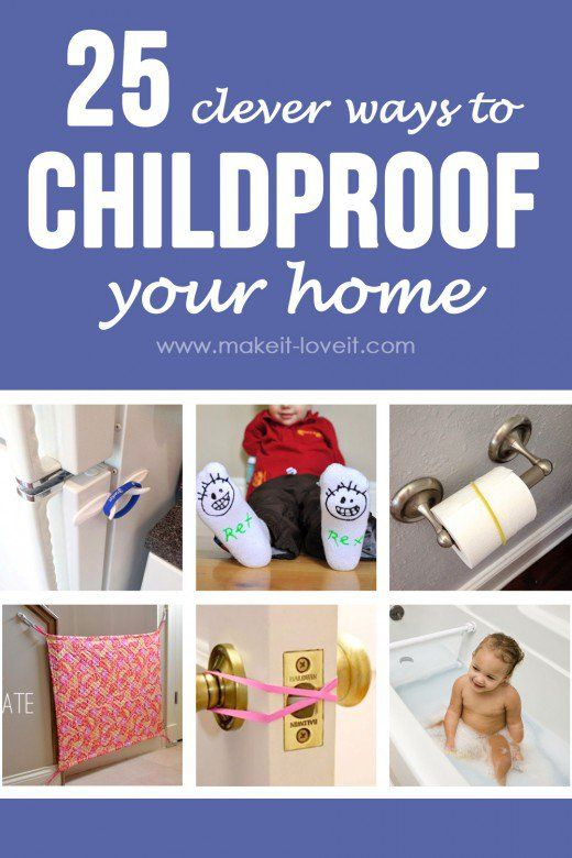 25 Clever Ways to Childproof Your Home (...plus a little update on our table)
