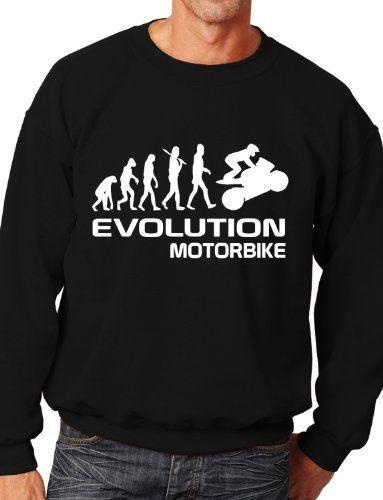 Evolution Motorrad Biken Pullover Unisex, Geschenk Zum Geburtstag Gr.S Als  Geschenk   Überraschen Sie Ihre Liebsten   Jetzt Weitere Tolle Geschenkideen  Aus ...