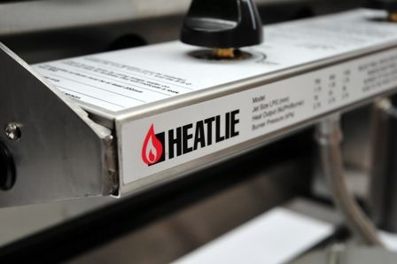 Heatlie BBQs Plate Options and Construction  Heatlie Barbecues come standard fitted with a 5mm Mild Steel Plate. Uprades to a 10mm Mild Steel Plate for Commercial Use, or a 20mm Plate for Teppanyaki style use is available. Made in Australia and proud. The Toughest BBQs in the country.
