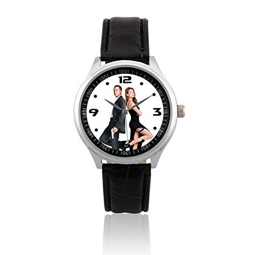 Fashion Adult Wrist Watch Leather Band PSL443 Brad Pitt  Angelina Jolie W * Be sure to check out this.