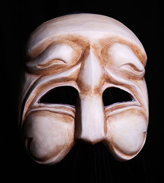Greek Chorus Mask 3 via @theatermaskscom