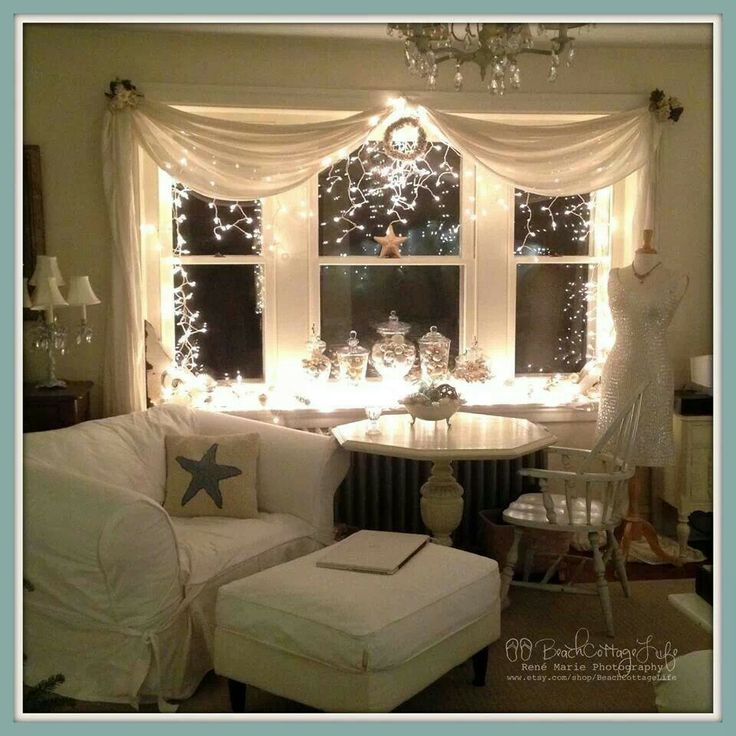 Nice.. Bay window treatments, Bay window decor, Window