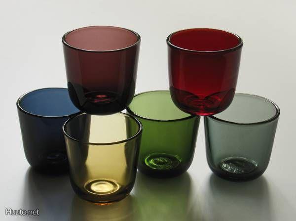 This is my favourite water glas!  Kaj Frank for Nuutajärvi